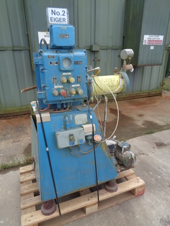 1 Gal. Eiger Model 5L H SSE EXD Stainless Steel Bead Mill