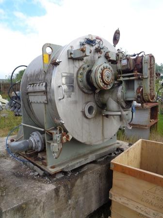 39″ Krauss Maffei HZ100/2 SID Stainless Steel Horizontal Peeler Centrifuge