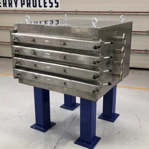 43 Sq. Foot,  Shelves Eurovent Stainless Steel Vacuum Tray Dryer, Used Refurbished