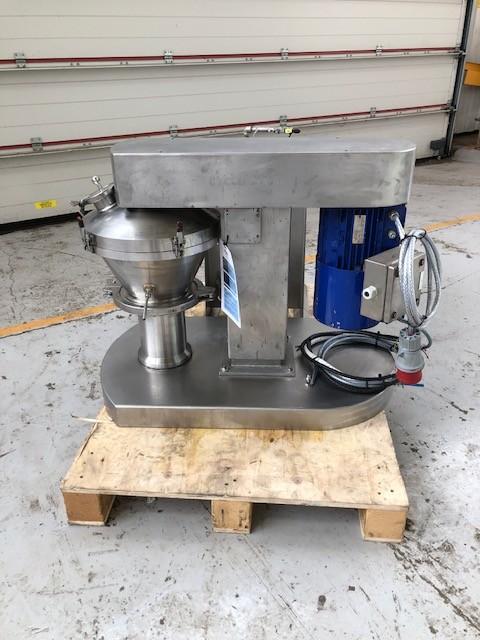 5 Litre Hosokawa Micron Cyclomix 5 Stainless Steel High Shear Conical Mixer