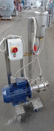 7.5 Kw Advanced Engineering Stainless Steel Inline Mixer