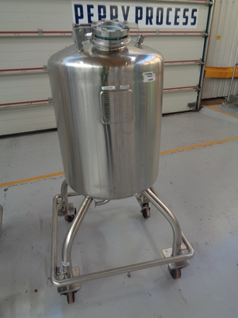 150 Litre Stainless Steel Vertical Mixing Vessel