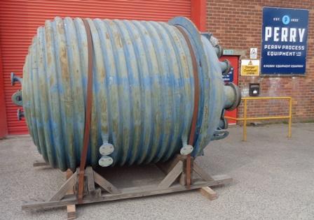 6,000 Litre FV/6 Bar Internal, 6 Bar Jacket DeDietrich Glass Lined Reactor Body