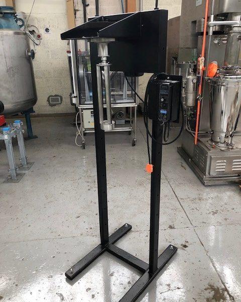 1.16 Sq. Foot Glass Pope Scientific Wiped Film Evaporator
