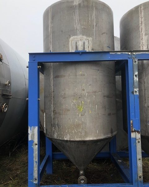 5,000 Litre 304 Stainless Steel Storage Tank