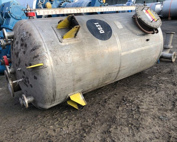 4,300 Litre Stainless Steel Storage Tank