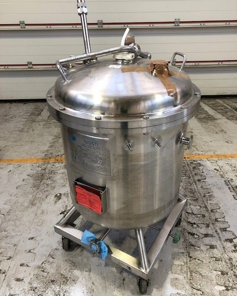 160 Litre Stainless Steel Vertical Storage Vessel