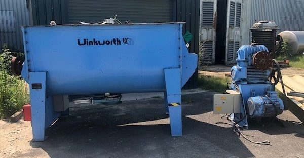 2,000 Litre Winkworth Model FU42 Mild Steel Ribbon Blender