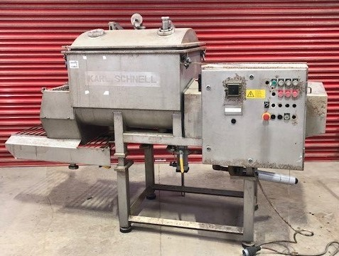 200 Litre Karl Schnell Model 740/750 Stainless Steel Twin Ribbon Blender