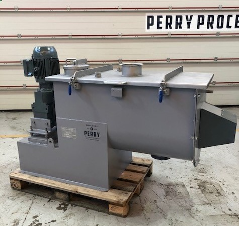 300 Litre Winkworth Model UT300 Stainless Steel Ribbon Blender, Used Refurbished