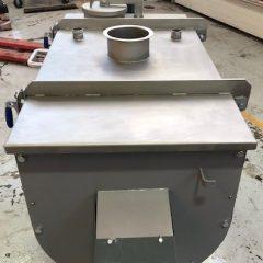 300 Litre Winkworth Model UT300 Stainless Steel Ribbon Blender, Used Refurbished