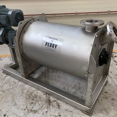 200 Litre Herbst Model HRZ-H 200 Stainless Steel Horizontal T-arm Mixer, Used Refurbished