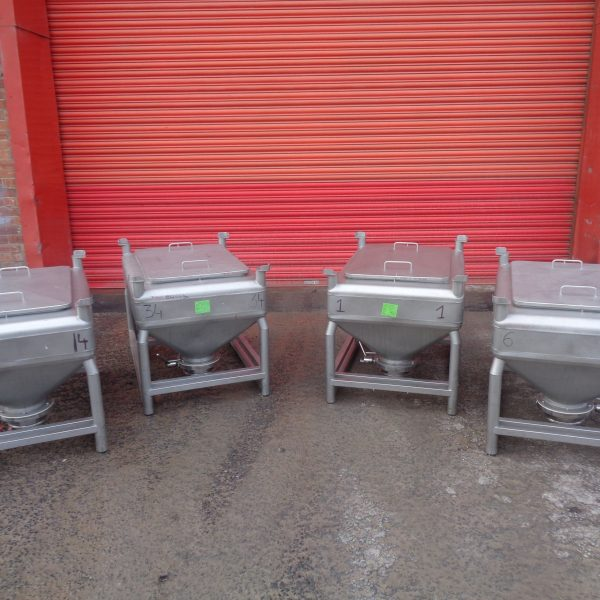 250 Litre Stainless Steel IBCs