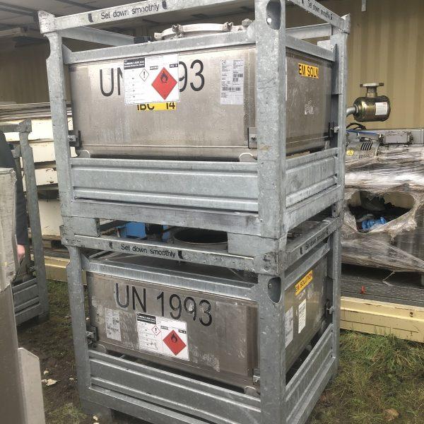 500 Litre Teka Stainless Steel IBC
