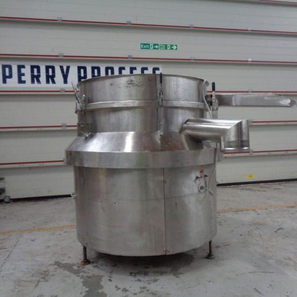 865 mm, 1 Deck Stainless Steel Gough Screen
