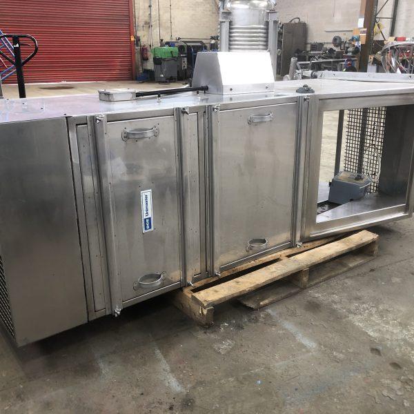 DCE / Torit model UMA-150-STV-K3 stainless steel dust filter