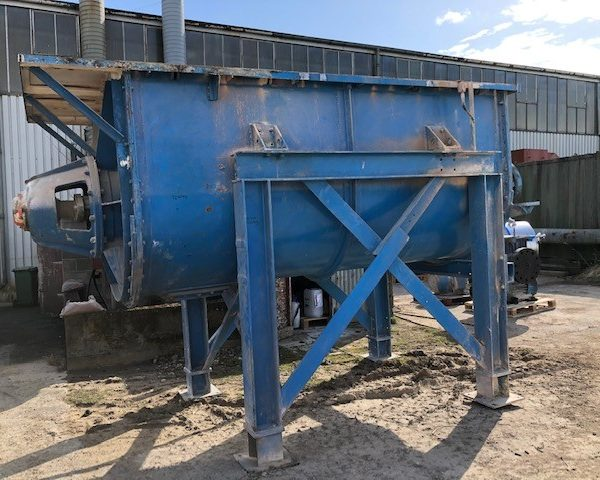5,000 Litre Mild Steel Ribbon Blender