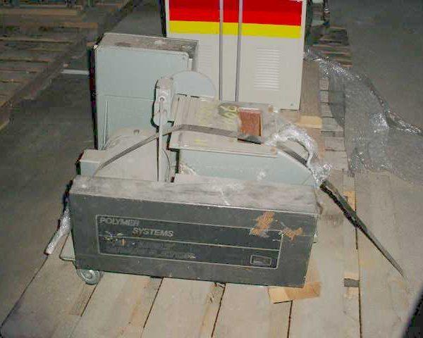5 HP 8″ X 8″ Polymer Systems Model HM-W88 Hot Melt Granulator