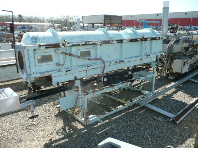 Used long gatto stainless steel vacuum tank pipe