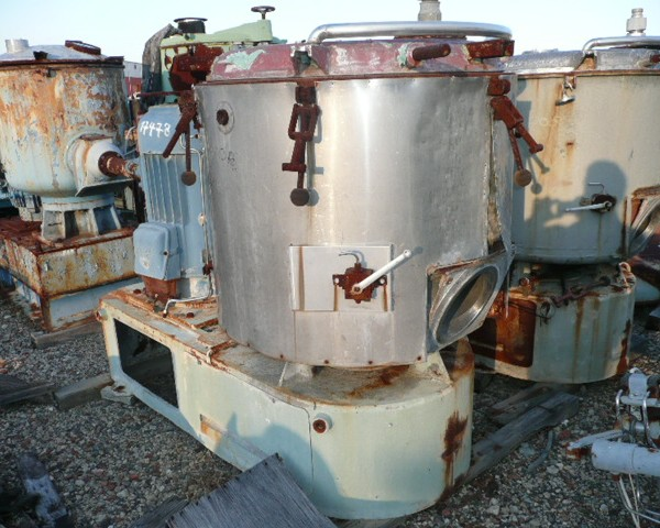 500 Liter Henschel Model FM500 Stainless Steel High Intensity Mixer