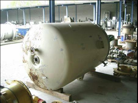 3,400 Litre Stainless Steel Vertical Jacketed Mixing Vessel, 1550mm Dia x 2000mm Straight Side