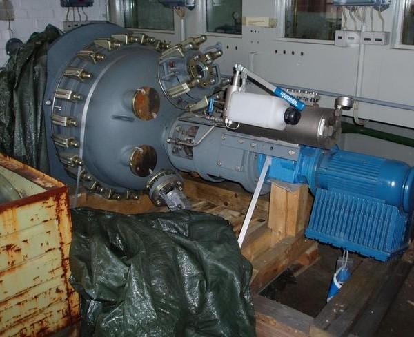 470 Litre, 6 Bar Internal, 6 Bar Jacket, Thale Glass Lined Reactor