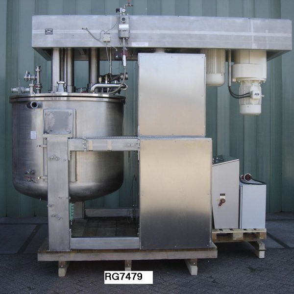 Reconditioned Brogli Model Mh-2000 304 Stainless Steel Multi-homo Vacuum Processing Vessel