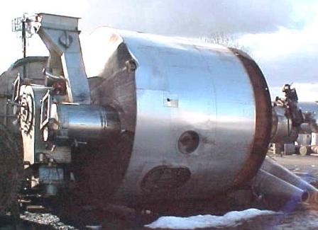 "9'10"" X 4'4″ 316 Stainless Steel Niro FSD 0050-N Spray Dryer System"