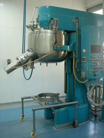 300 Litre Collette Gral-300 Stainless Steel Mixer Granulator