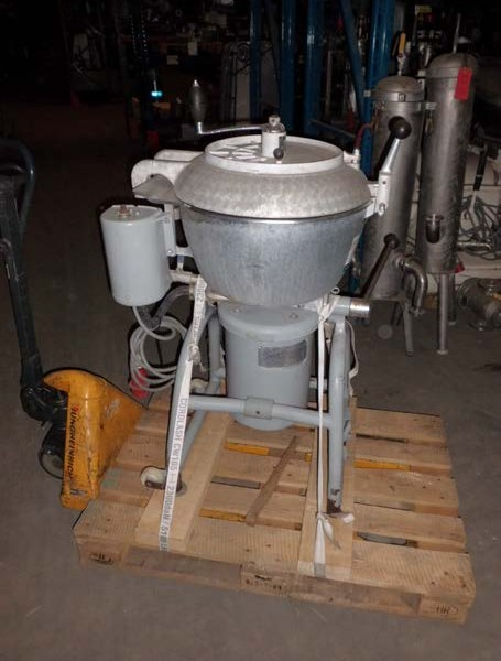 40 Liter Stephan Model UM40 Stainless Steel Vacuum Mixer And Disperser