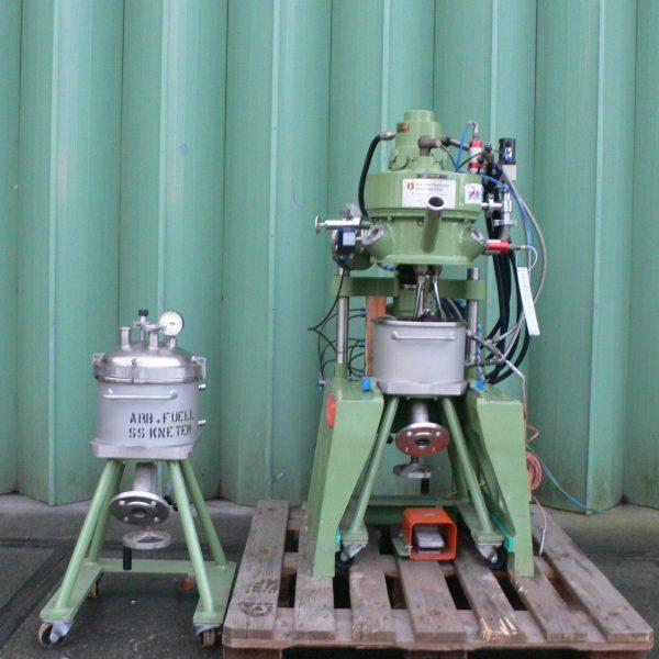 5 Litre Ika Mascinenbau Staufen Stainless Steel Vacuum Double Planetary Mixer, Unused