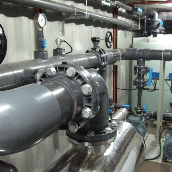 Membrane Cleaning Plant for Reverse Osmosis / Nano Filtration Membranes
