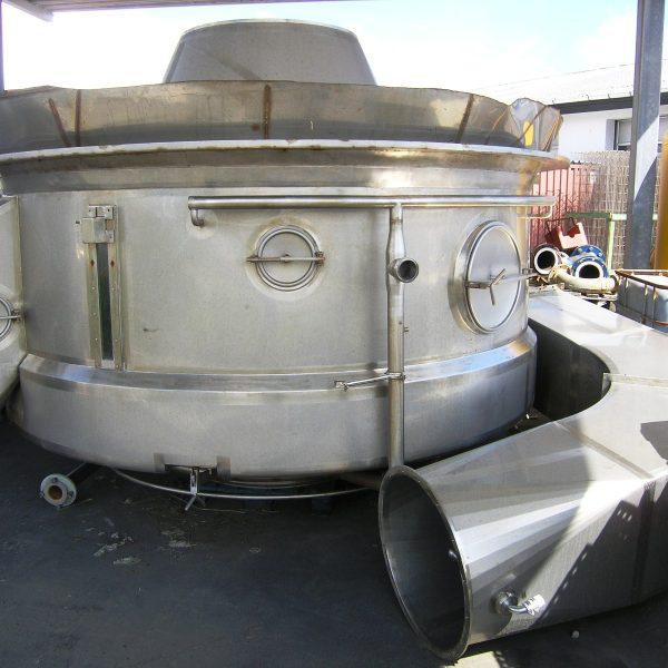 Spray Drying Partial Plant, Anhydro, 1100 KG/HR Milk Powder