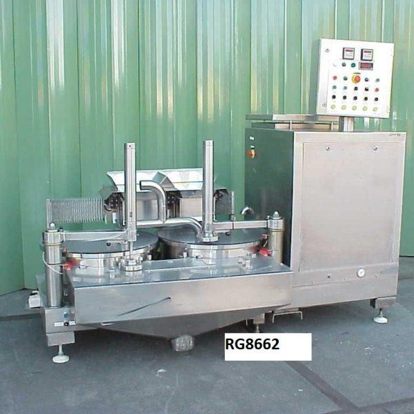 Caleva Model 27 316 Stainless Steel Twin Disc Spheronizer