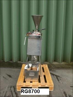 3″ Dia. Fryma Ag Rheinfelden Type JMRS-80 316 Stainless Steel Jet Mill