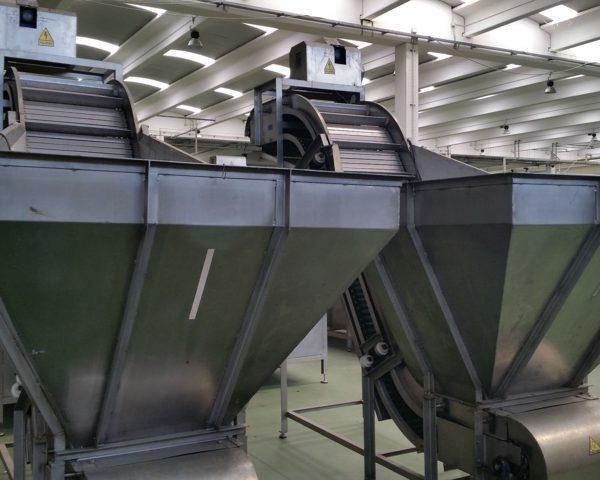 Artichoke Production Line, 4000 Kg/Hr