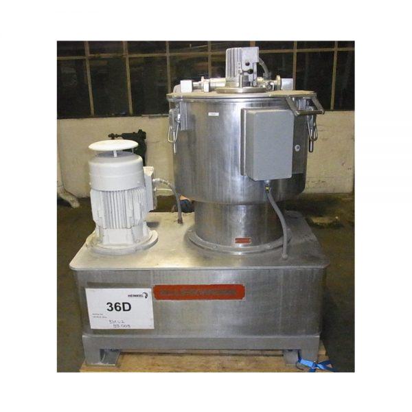 20″ X 10″ Ellerwerk 316L Stainless Steel Universal Basket Centrifuge