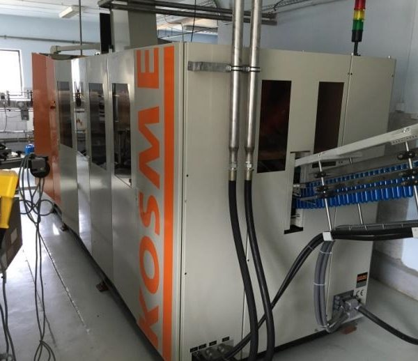 Krones / Kosme PET Bottle Forming and Filling Line