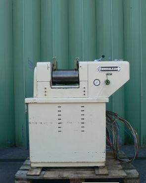 8″ Long 6″ Diameter, Buhler 3-Roll Mill