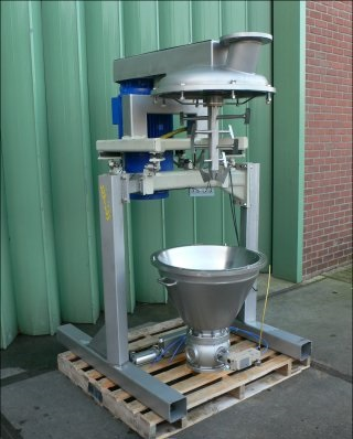50 Litre Hosokawa Micron BV Cyclomix 50 Stainless Steel Powder Turbo Mixer