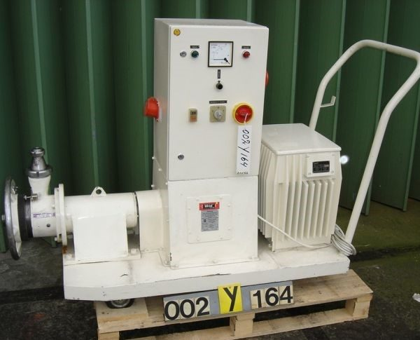 5 HP Probst & Class Model N-100E Stainless Steel Horizontal Colloid Mill