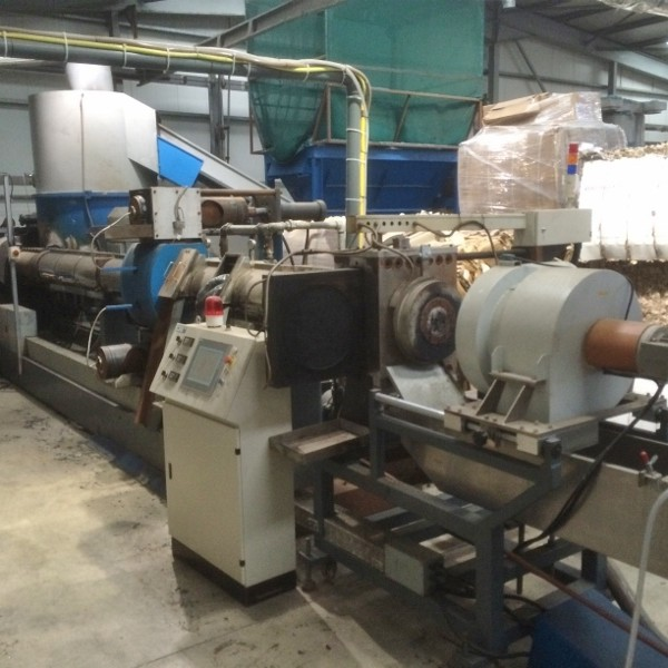7.1″ 42/1 Purui Film Recycling / Pelletising / Compounding Line
