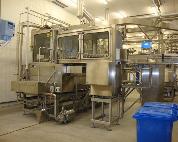 Aseptic Bottling Line, 18000 Bottles/Hr