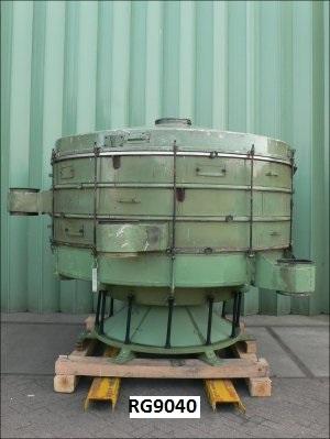 2600 mm, 4-Deck, 4.0 kW, Mild Steel Allgaier TSMH-2600/4 Vibro Sieve
