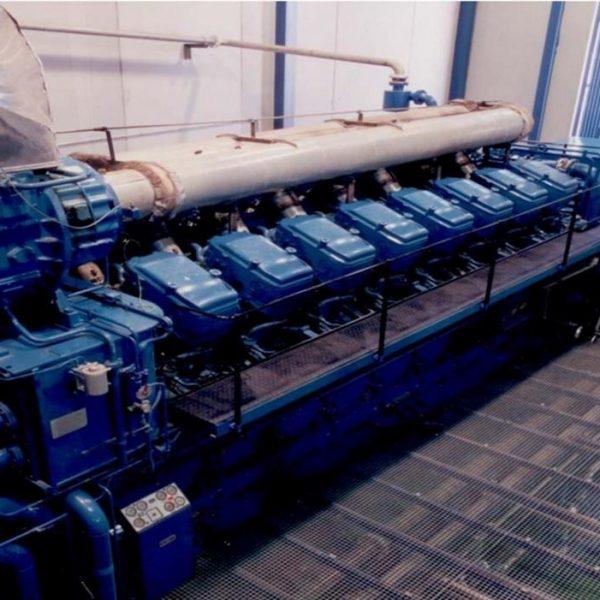 9680 kW 6000 Volts 50 Hz Cogeneration Plant