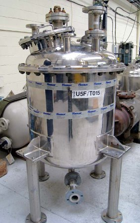 250 Litre 316 Stainless Steel Vertical Liquid Storage Tank