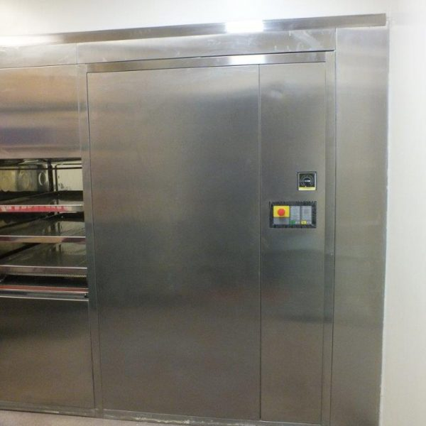 Fedegari Polished Stainless Steel Autoclave