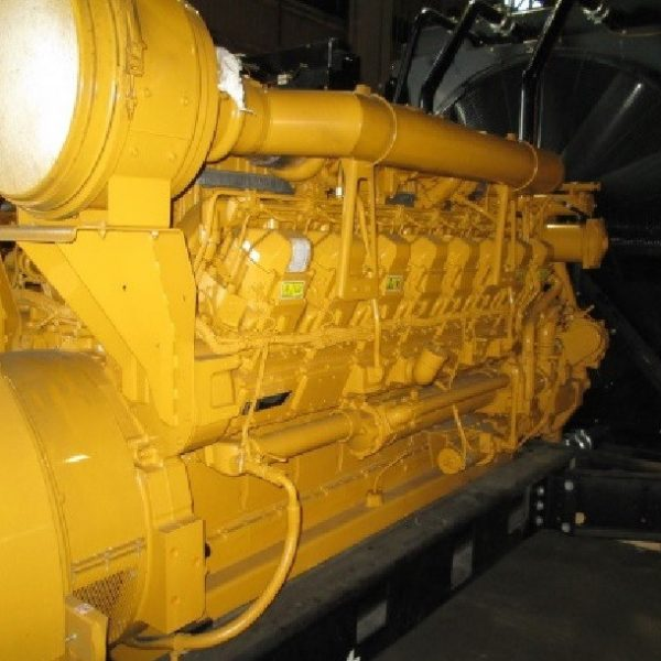 Unused 1600kW 6600V 50Hz Caterpillar Diesel Generator Set