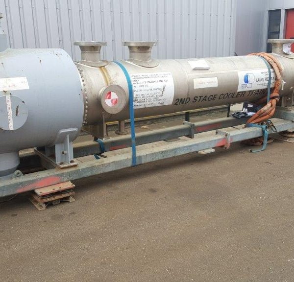 127 Sq. M. Vertical Shell and Tube Heat Exchanger