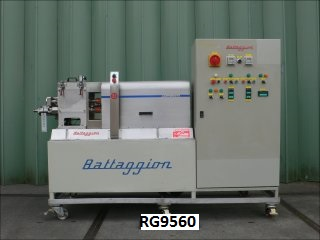 12.5 Litre Battaggion Bergamo Type IP 2C 10 AP/S Stainless Steel Z-Blade Mixer